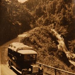 1931 Postbus Wasserfall